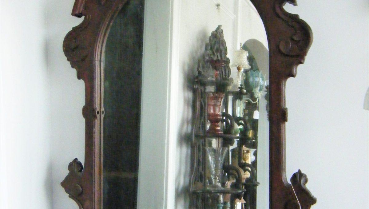 Victorian Carved Vanity Mirror
