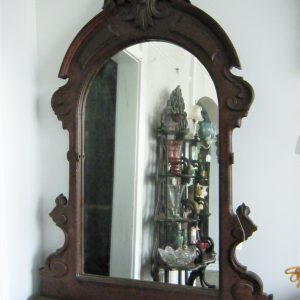 Victorian Carved Vanity Mirror