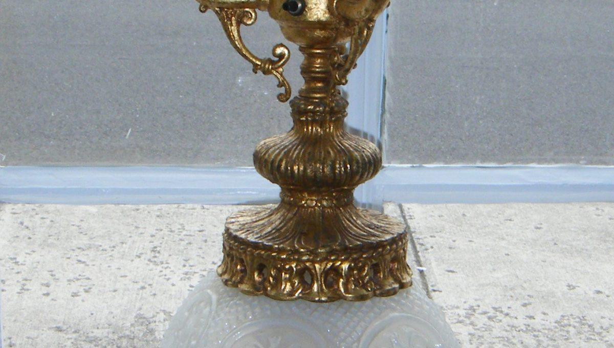 4-Light Candelabra Table Lamp