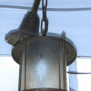 Star-Etched Entrance Light