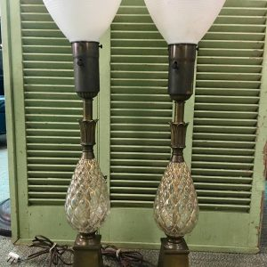 Pineapple Torch Lamps