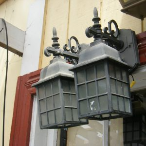 Exterior Metal Lantern Sconces