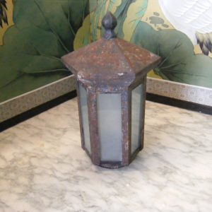 Metal Post Light Shade