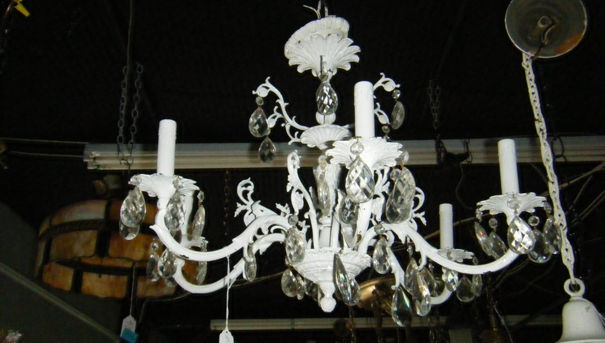 6-arm Metal Candelabra Chandelier
