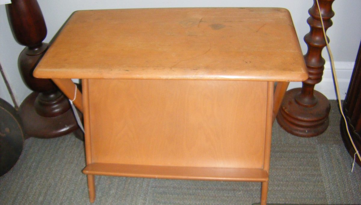 Heywood Wakefield Magazine Rack Table