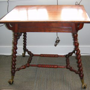 Merklen Bros. Barley Twist Parlor Table