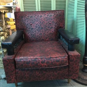 East Tennessee Naugahyde Armchair