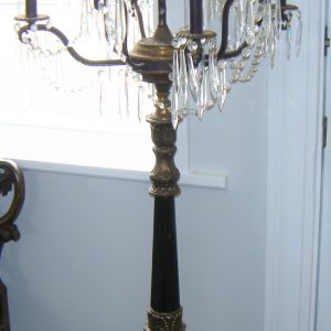 9-arm Ornate Pole Lamp