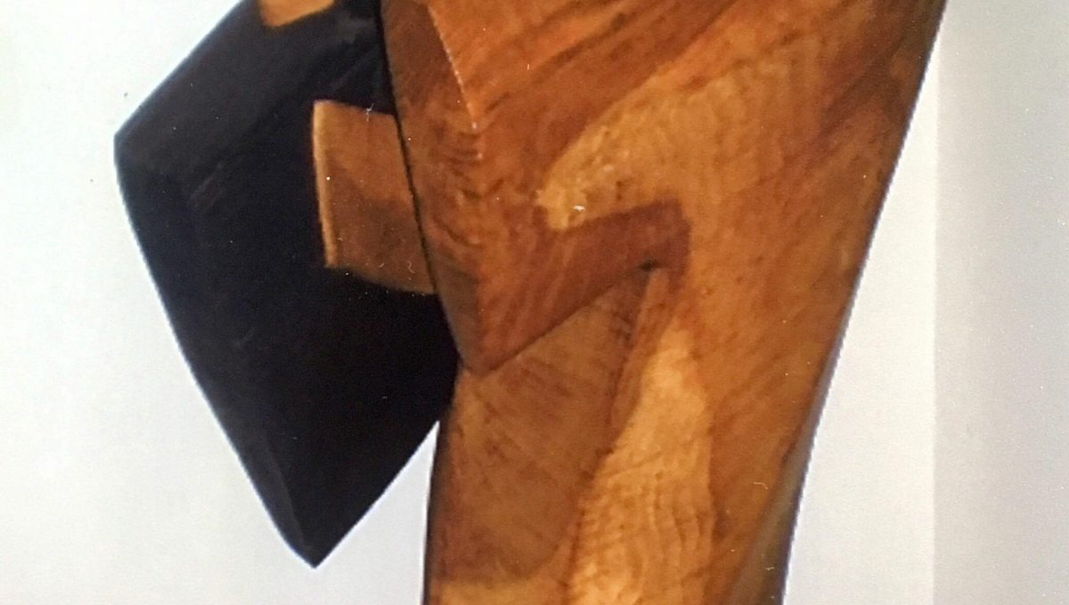 Wooden Abstract Sculpture