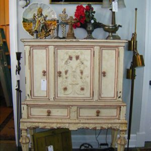 French Provincial/Italianate China Cabinet