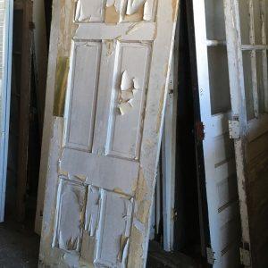 6-Panel Vertical Kitchen Swing Door