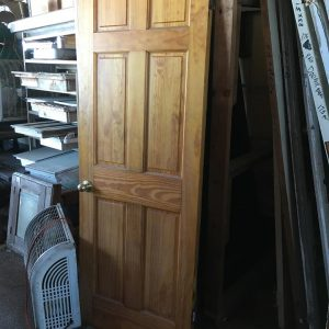 6-Panel Vertical Interior Door