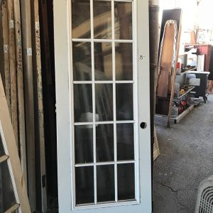 15-Lite Exterior French Door