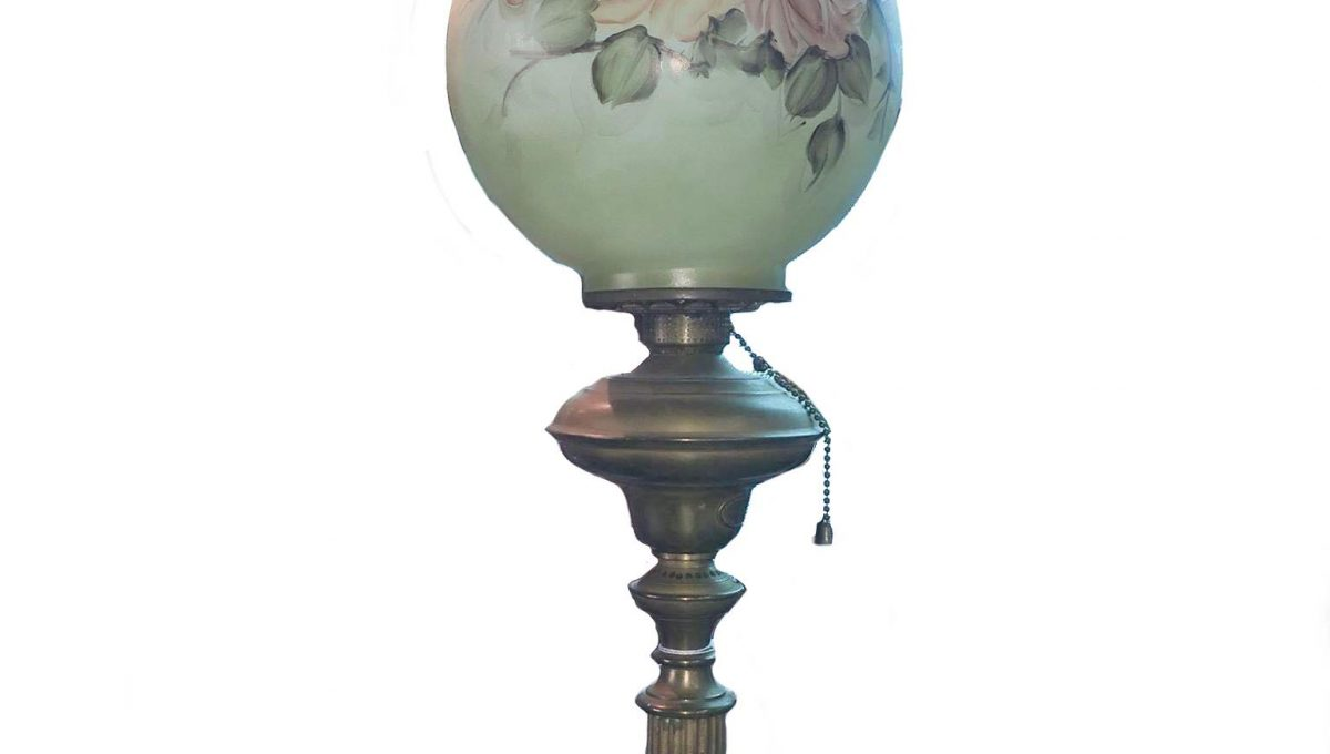Cornelius & Co. Parlor Oil Lamp