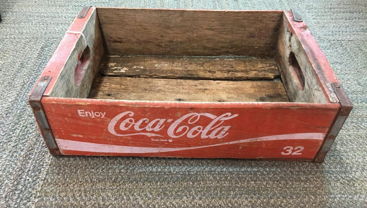 Antique Coca-Cola Wood Crate
