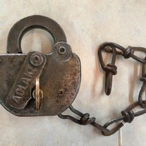 C & O Railroad Track Switch - Lock with Key