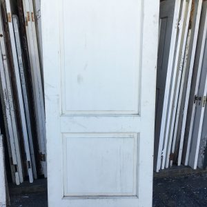 2-Panel Large Solid Door