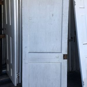 2-Panel Wooden Door