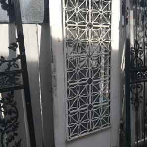 1-Panel Metal Storm Door