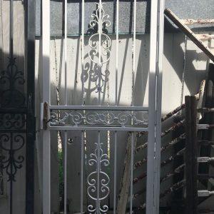2-Panel Metal Storm Door