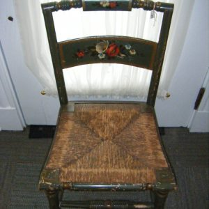 Tole Hitchcock Style Chair