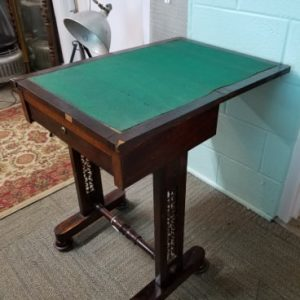 Antique Rosewood Gaming Table