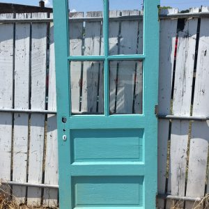 4-Lite/ 2-Panel Exterior Door