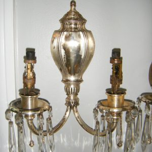 Pair of Sterling Bronze & Co. Sconces
